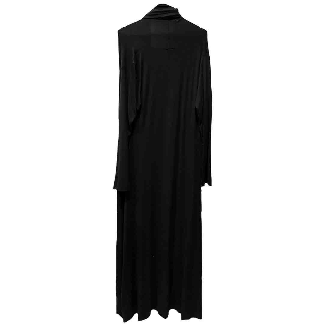Long women Black dress Tanzania