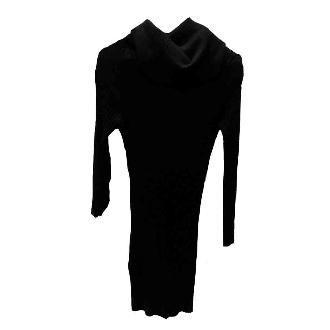 Women dress with long sleeves in Tanzania(Black Color)
