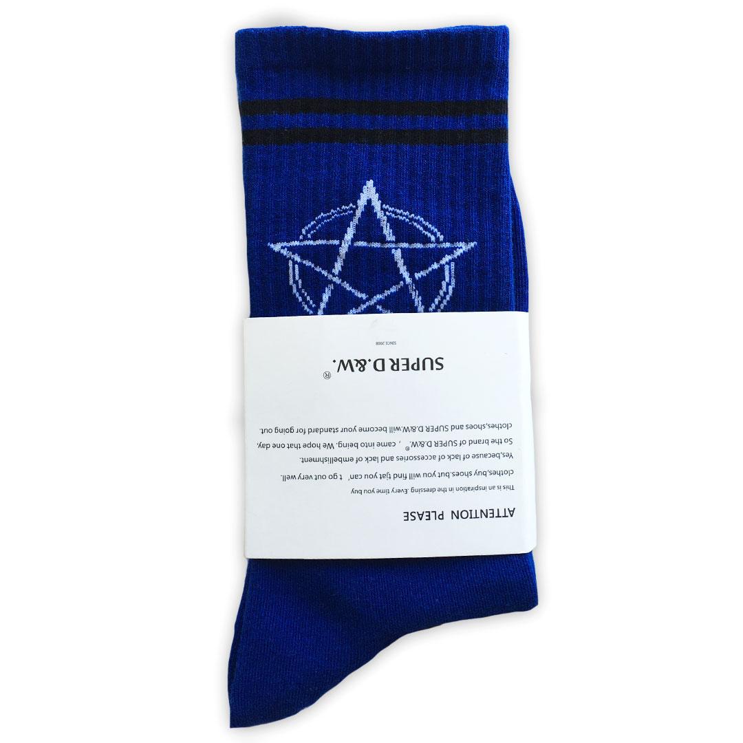 Star Socks Tanzania - Blue