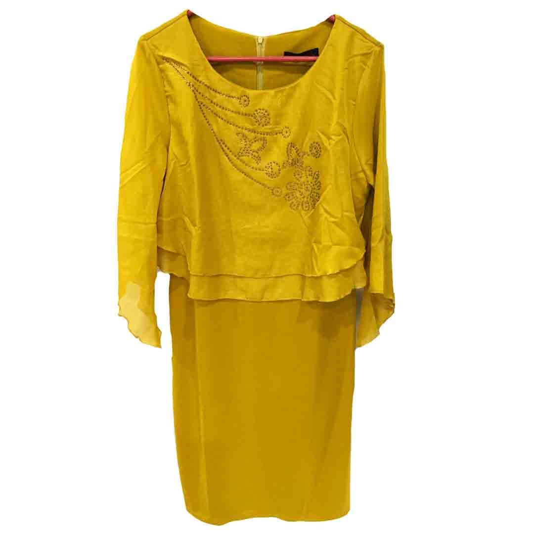 Impala Tanzania yellow dress for women