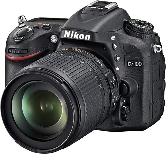 Nikon D7100 with 18-105