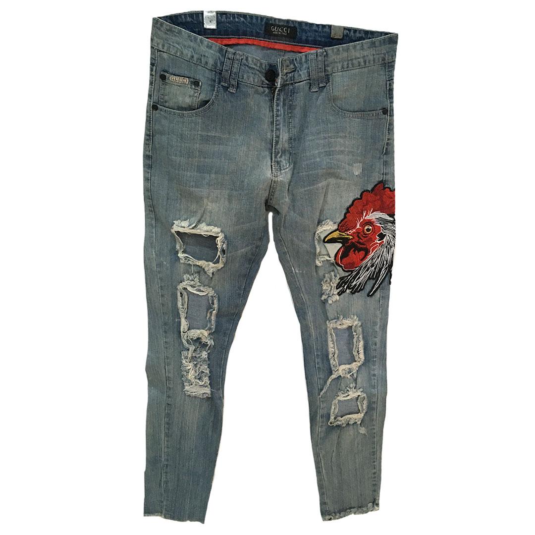 Mens Tampered Jeans Tanzania