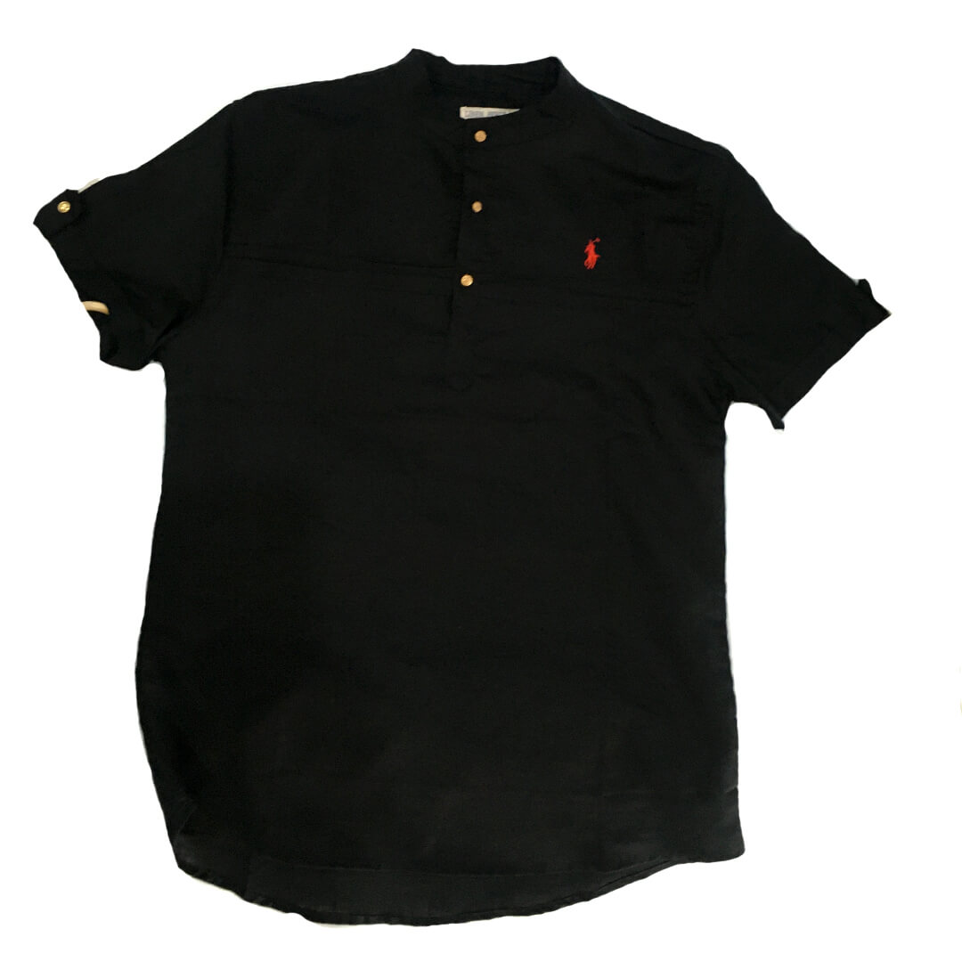 Shop black polo shirts  Tanzania