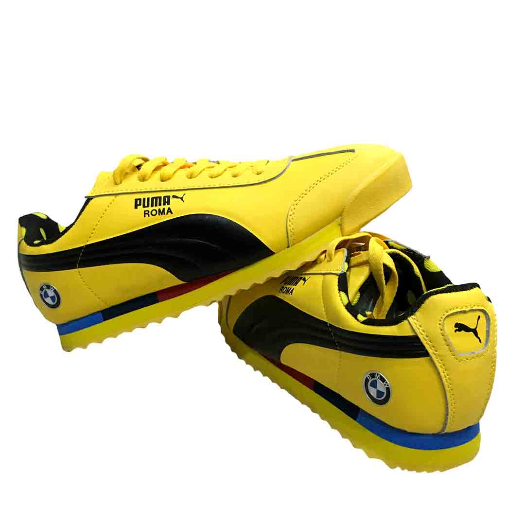 Puma Roma Sneakers Shoes Tanzania - Yellow
