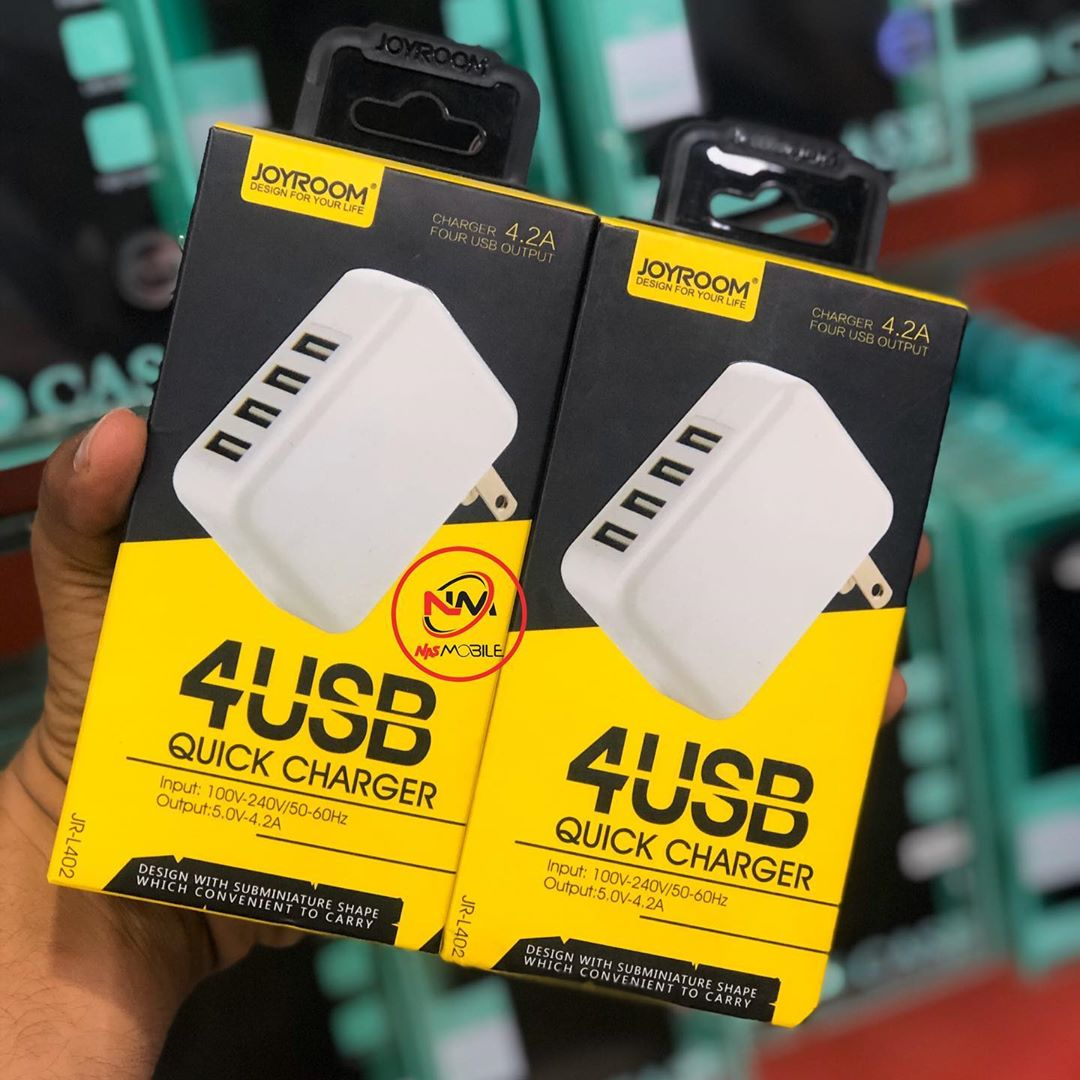 FOUR(4) USB PORTS QUICK CHARGER TANZANIA