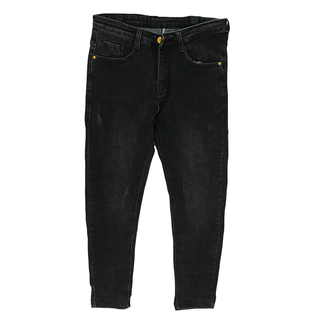 Men Straight Jeans Tanzania - Black