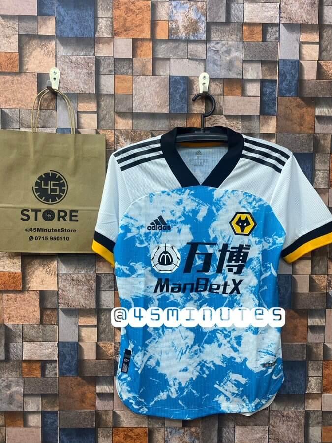Wolverhampton Away Jersey(Kit) 2020 2021 Tanzania | Jezi Ya Wolves 2020/21