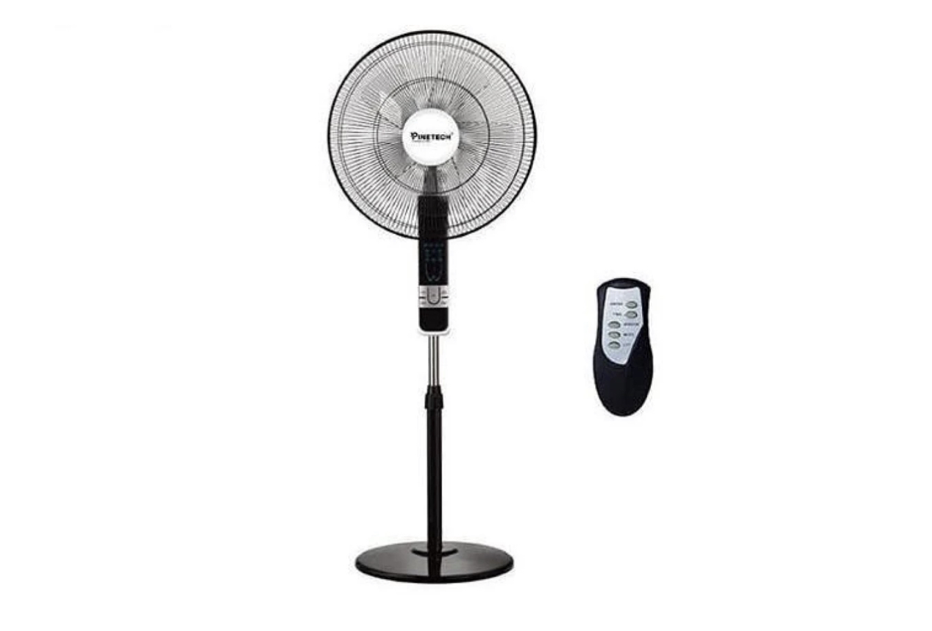 Pinetech Standing Fan 12 Inches  With Remote Tanzania (SF015) | FENI YA PINETECH