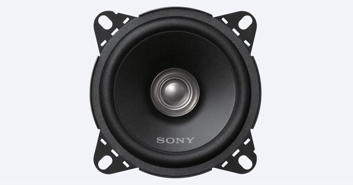 Dual Cone Speaker for Cars by Sony Tanzania, 10cm, Black, XS-FB101E
