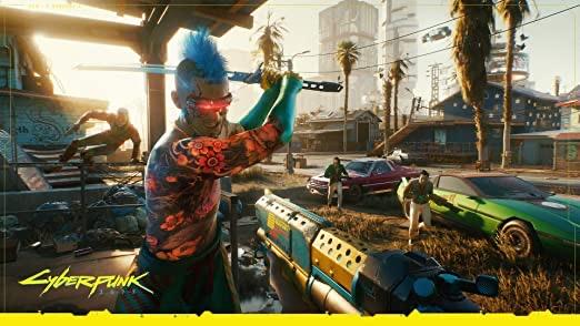 Cyberpunk 2077 Tanzania PlayStation 4(PS4) - Standard Edition