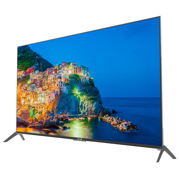 Evvoli 65 inch Smart LED TV Tanzania, 4K ULTRA SLIM Metal frame TV ( 65EV600US)