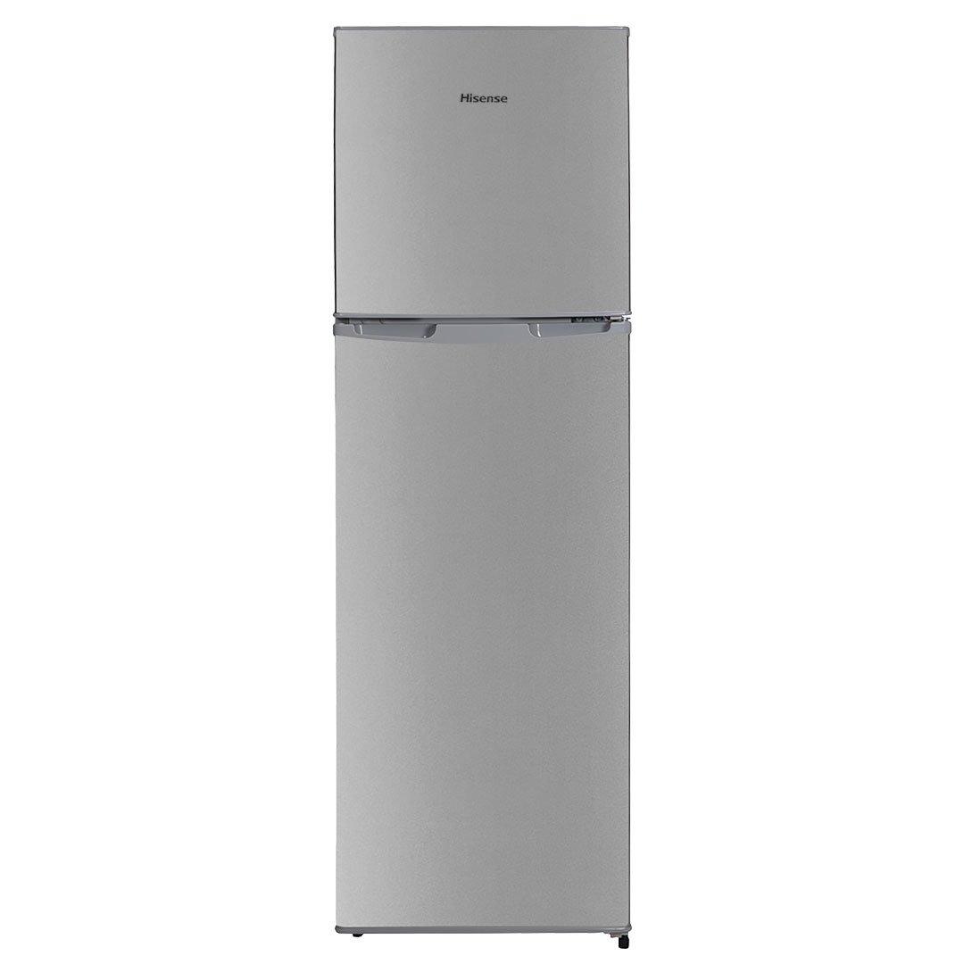 Hisense 220L Titan Silver Top Freezer Fridge Tanzania - H220TTS