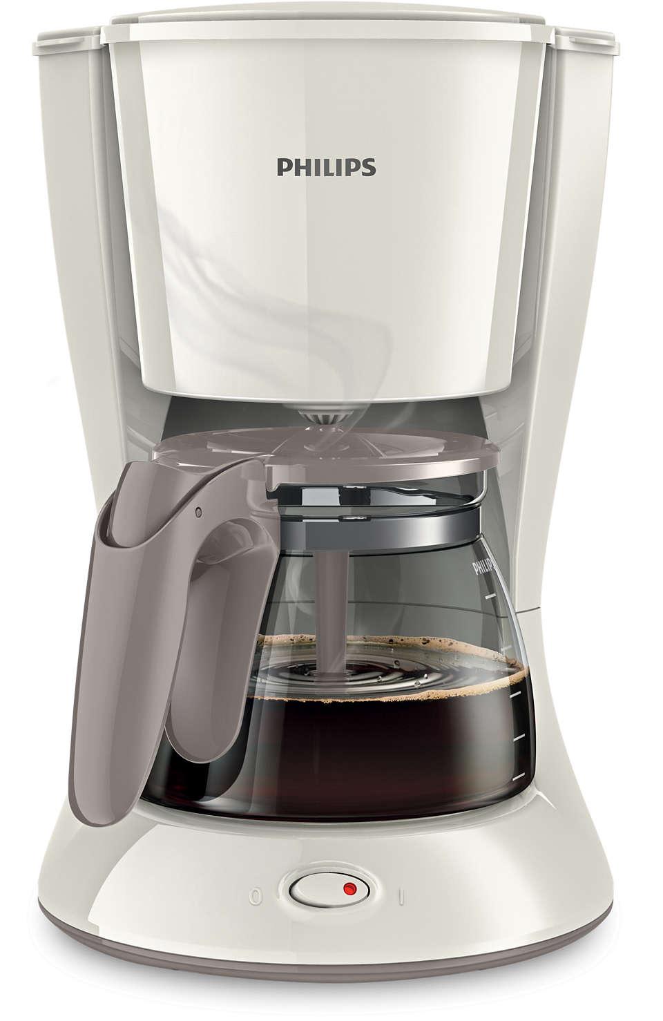 Philips HD7447 Coffee Maker Tanzania(White)