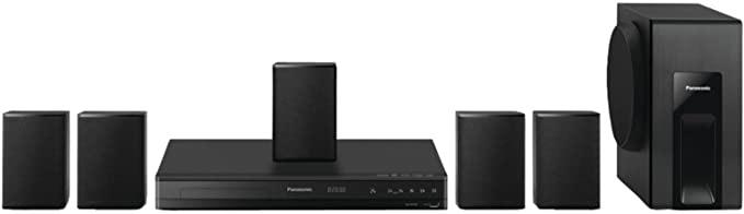 Panasonic Home Theater System Tanzania SC-XH105GS-K (Black) 5.1 Surround Sound, Upconvert DVDs to 1080p Detail