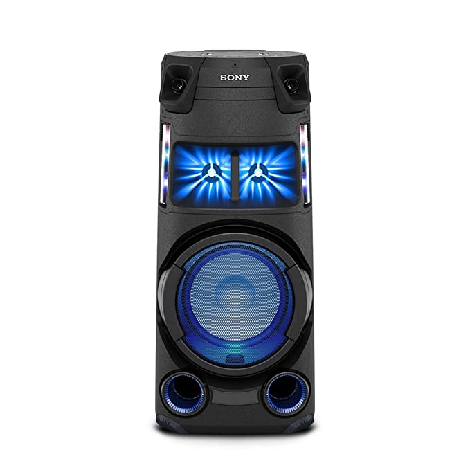 Sony MHC-V43D Tanzania, High Power Party Speaker with Bluetooth Technology (Karaoke,Gesture Control, Party Light) - Black
