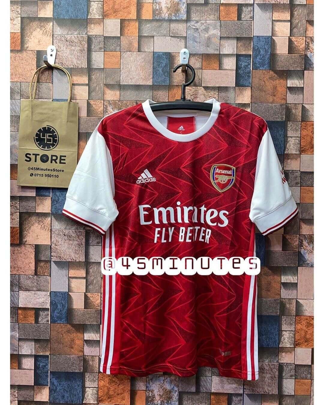 jezi mpya za arsenal 2020/21 | Arsenal home jersey(Kit) 2021 Tanzania Original