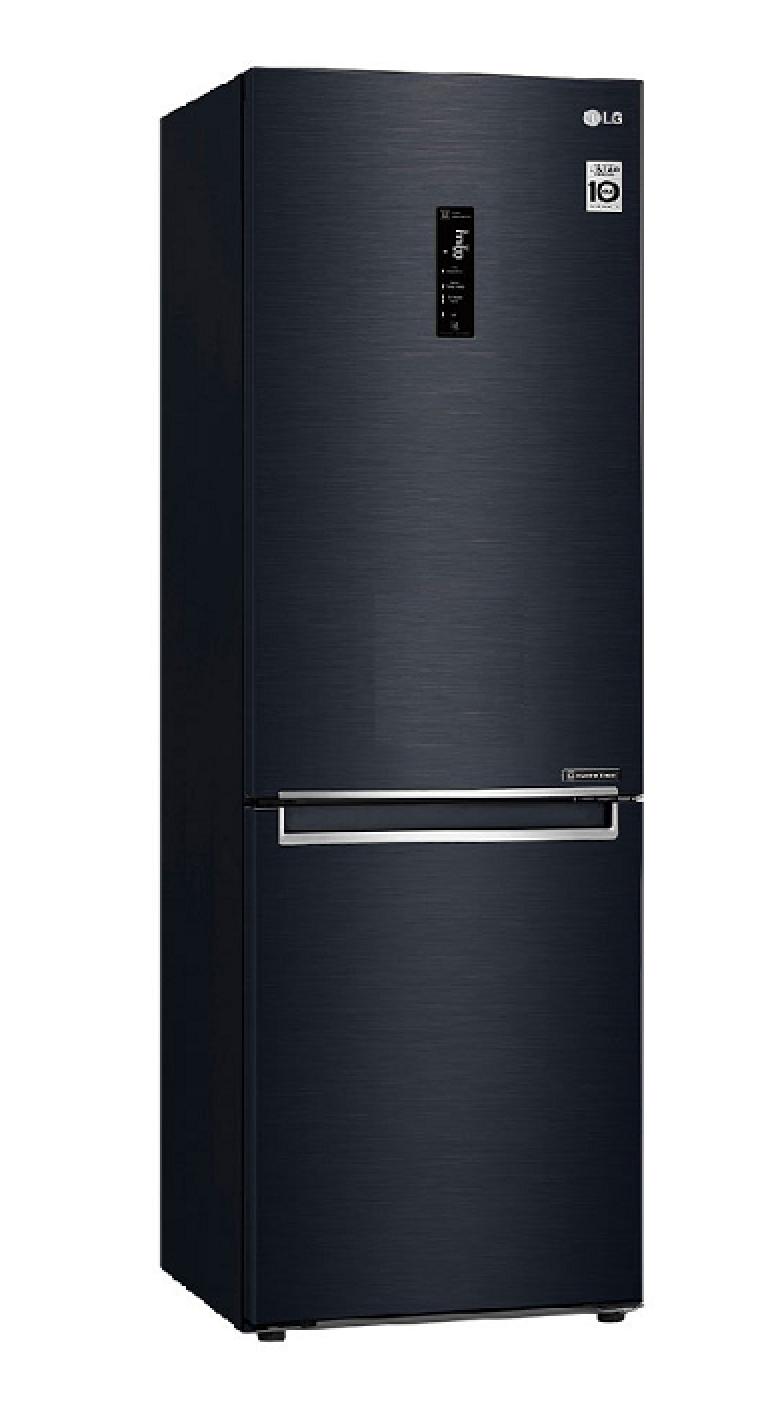 LG Bottom Freezer Fridge Tanzania With 373L (GC-B459NQDZ, Black)