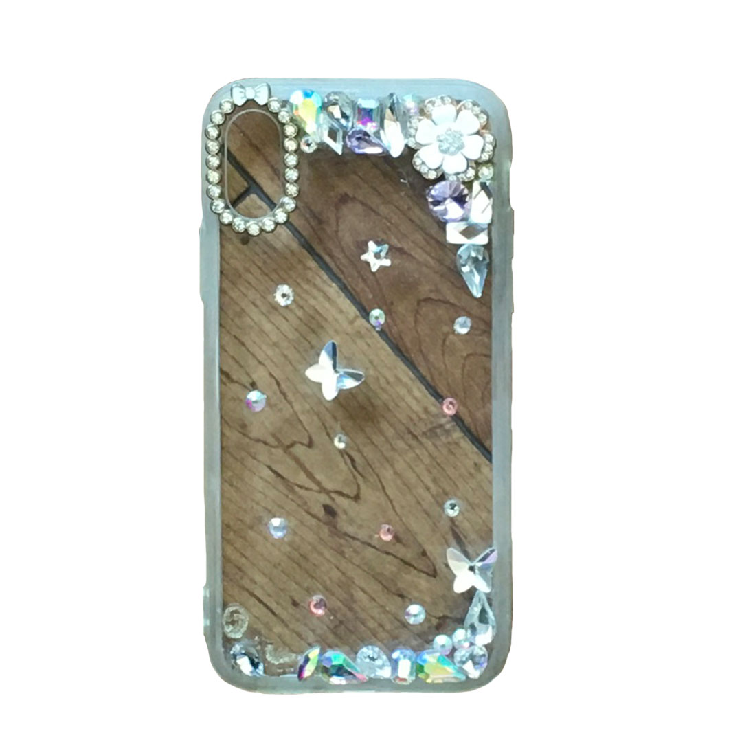 Butterfly Transparent Phone Case Tanzania