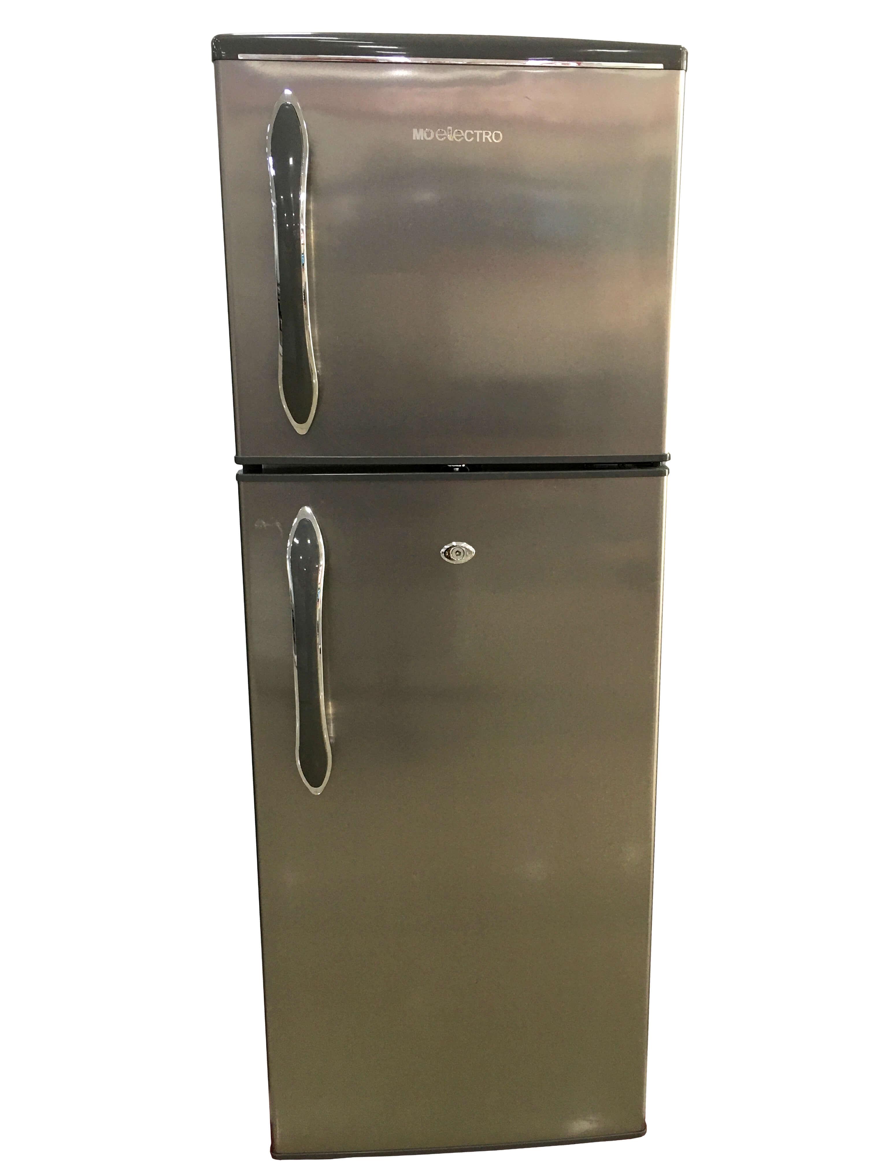MO Electro Double Door Fridge 275L, MOF-D275HS, Silver