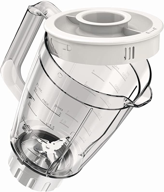 Philips Jug Blender 400 Watts Tanzania - HR2114, White, Plastic