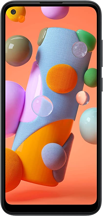"Samsung Galaxy A11 Tanzania | 6.4"" Screen | 32GB of Storage | Long Lasting Battery | 2020 Model | Black"
