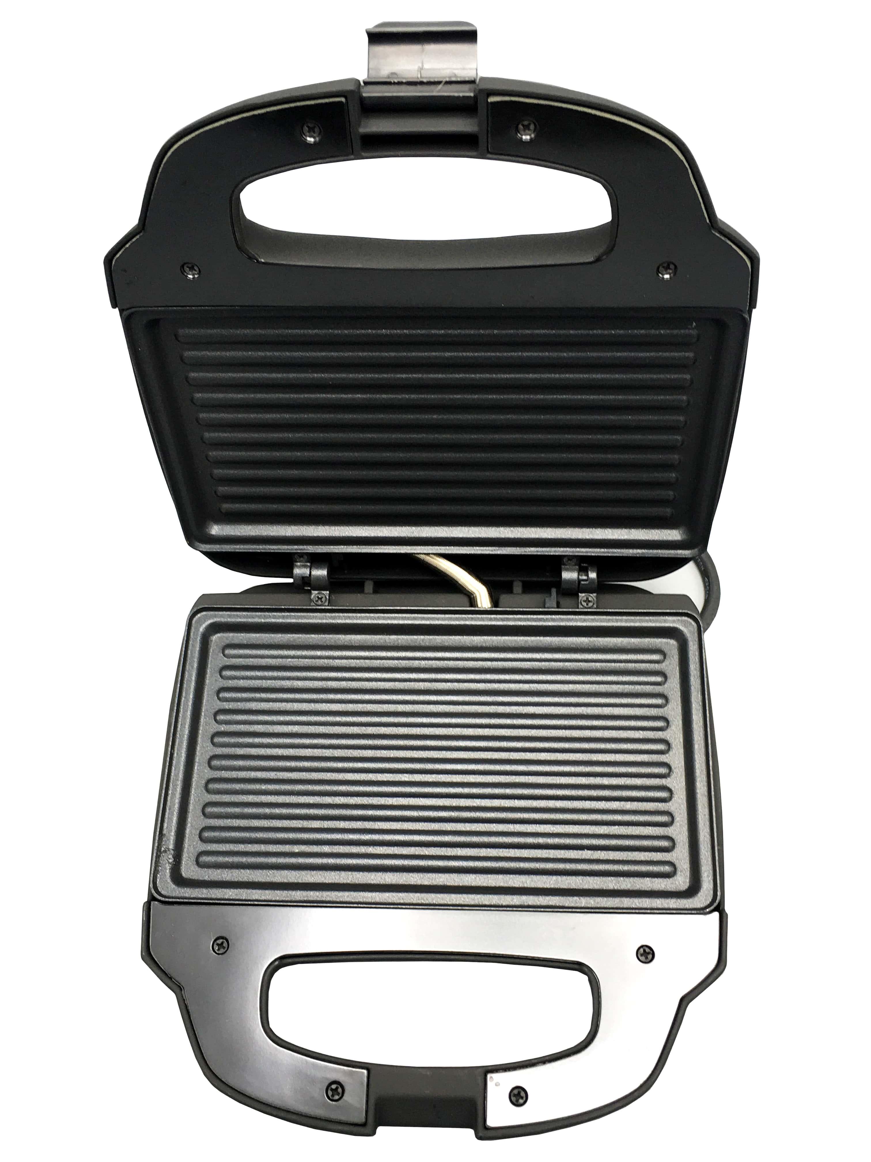 VON Hotpoint Sandwich Maker 2 Slice 680-800w Tanzania (Black, VSSP2GMCX)