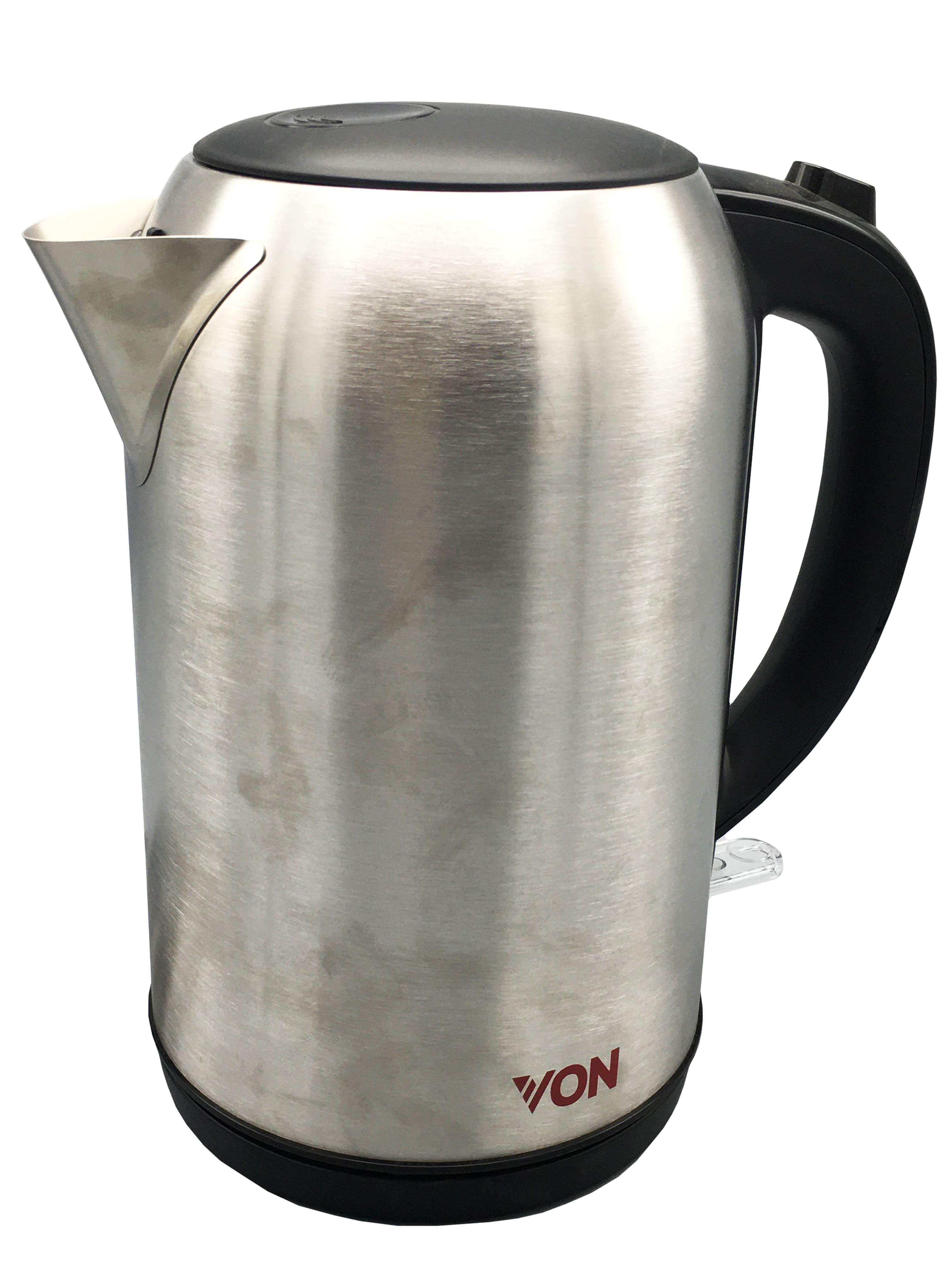 Von VSKL17PDX Upright Cordless Kettle, 1.7L - Stainless steel Tanzania