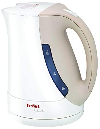 Tefal Kettle Justine BF563043 White and grey 1.7L 2400W Power Tanzania  | Birika La Kuchemsha Maji