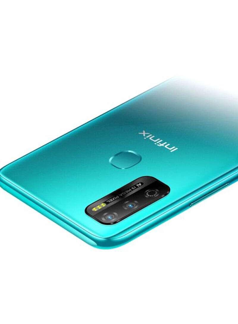 Infinix Hot 9 Play Tanzania - Quetzal Cyan 2GB RAM 32GB 4G LTE