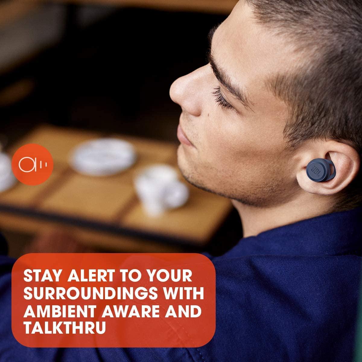JBL LIVE 300 Tanzania, Premium True Wireless Headphone, Blue