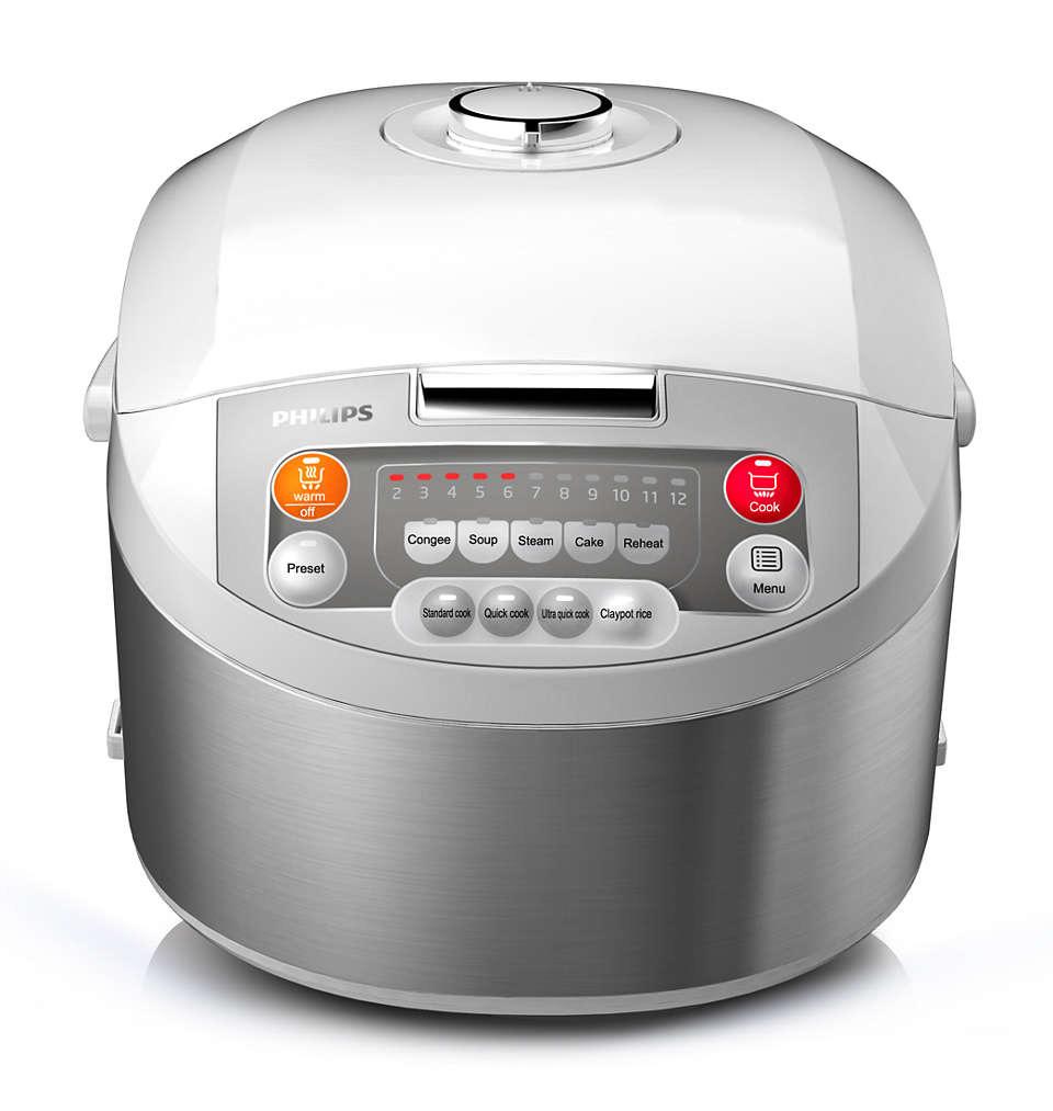 Philips Viva Collection Fuzzy Logic Rice Cooker HD3038 Tanzania