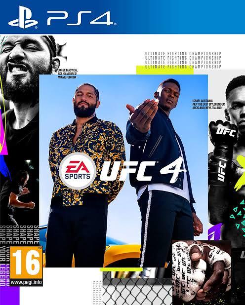 UFC 4 Tanzania - PlayStation 4 (PS4)