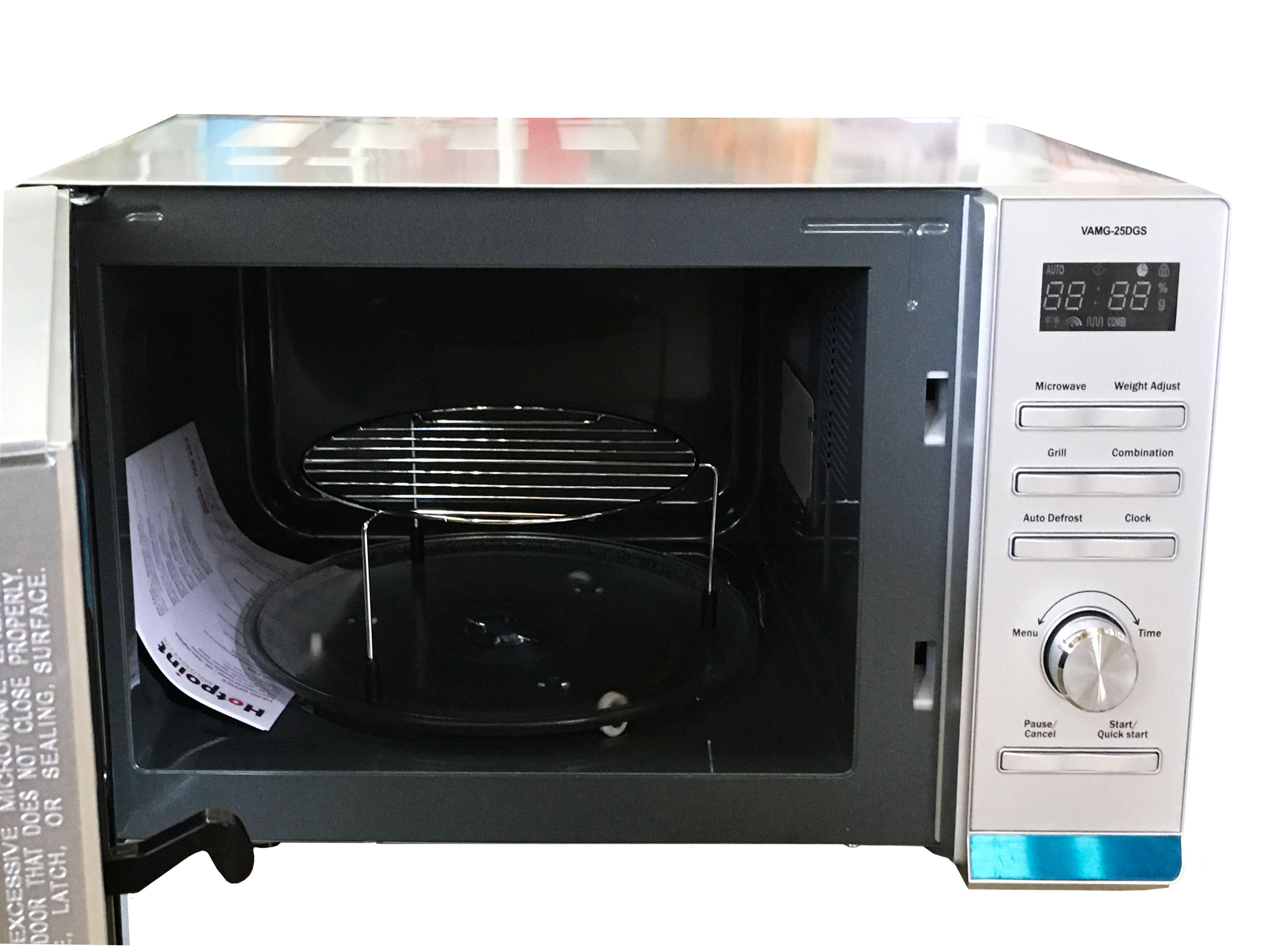 Von Hotpoint Microwave 25L Tanzania (Gray, VAMG-25DGS)