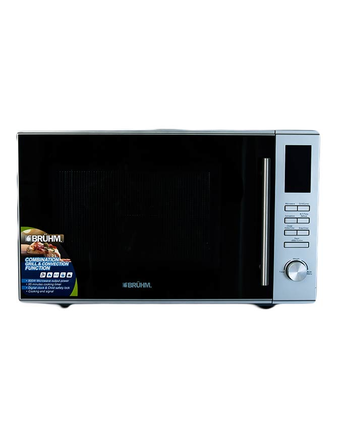 Bruhm Microwave With Grill & Convection - 30L Tanzania (BMO 930AC )