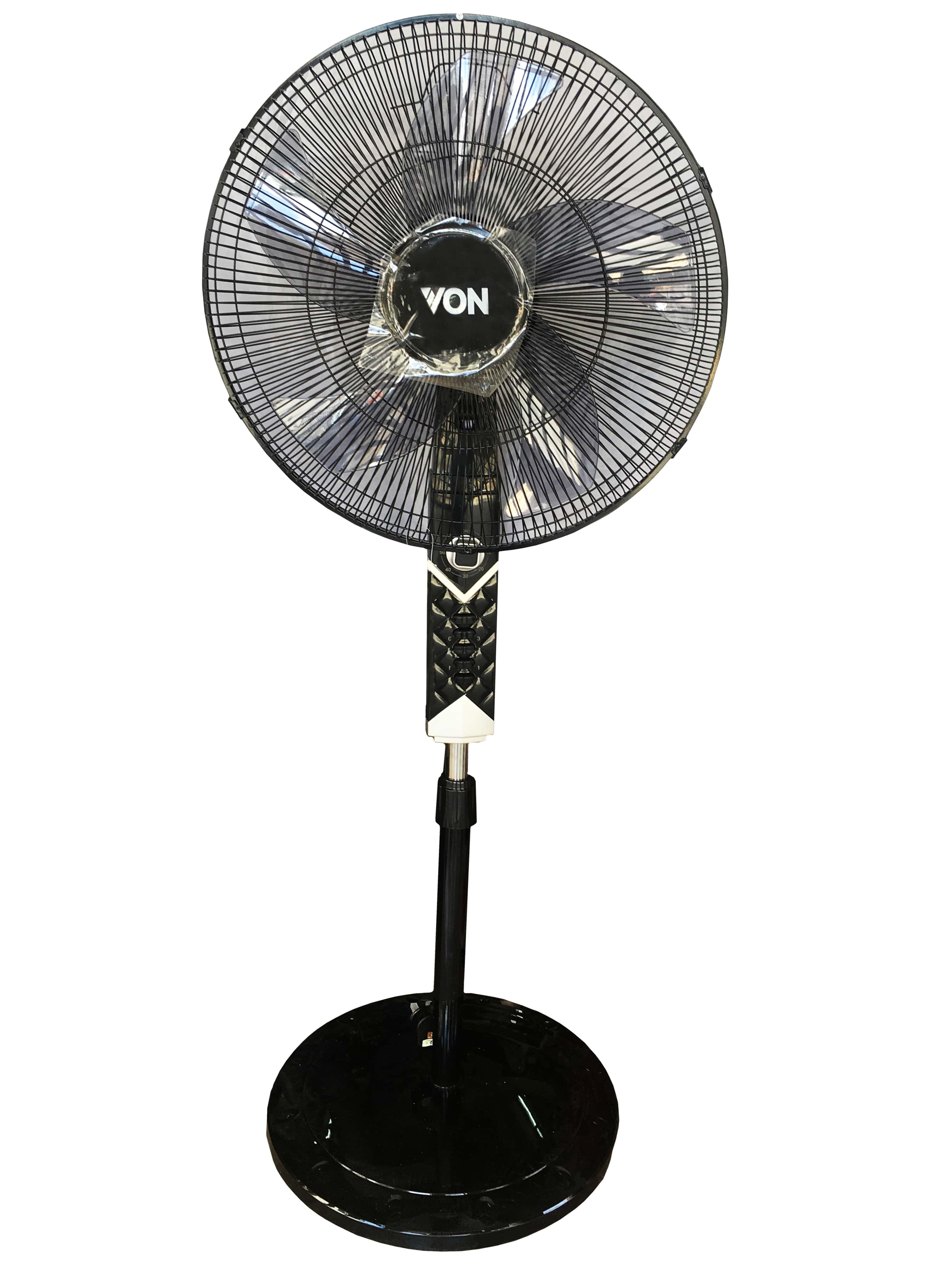 """Von Hotpoint Floor Standing Fan 18"""" Inch Tanzania (Black, VSNJ8621K)"""