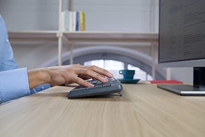 Logitech MK235 Wireless Keyboard and Mouse Tanzania (Black)