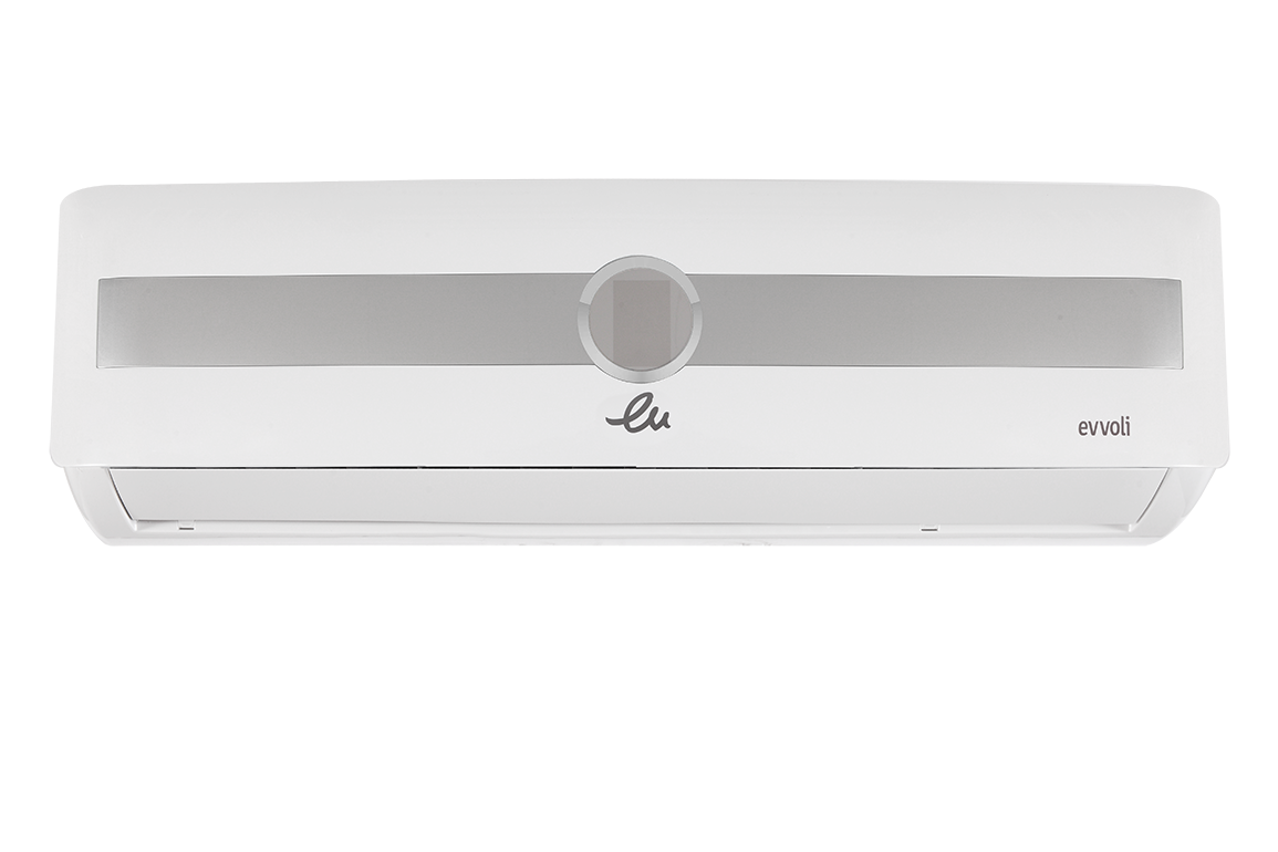 EVVOLI Split Air Conditioner(AC) MD-EVCIS Golden Cooling and heating 24000BTU GAS R410 in Tanzania