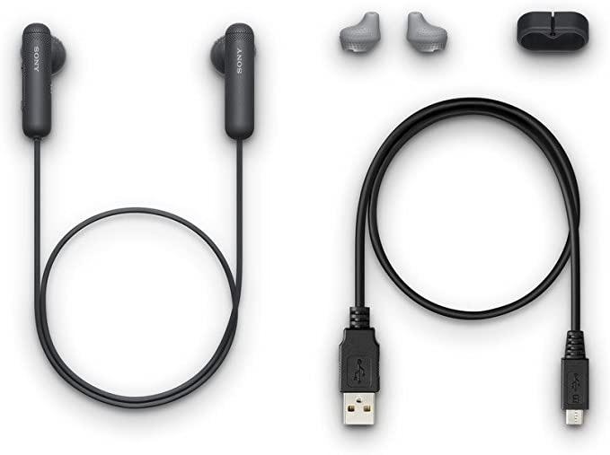 Sony WI-SP500 Wireless in-Ear Sports Headphones Tanzania, Black (WISP500/B)