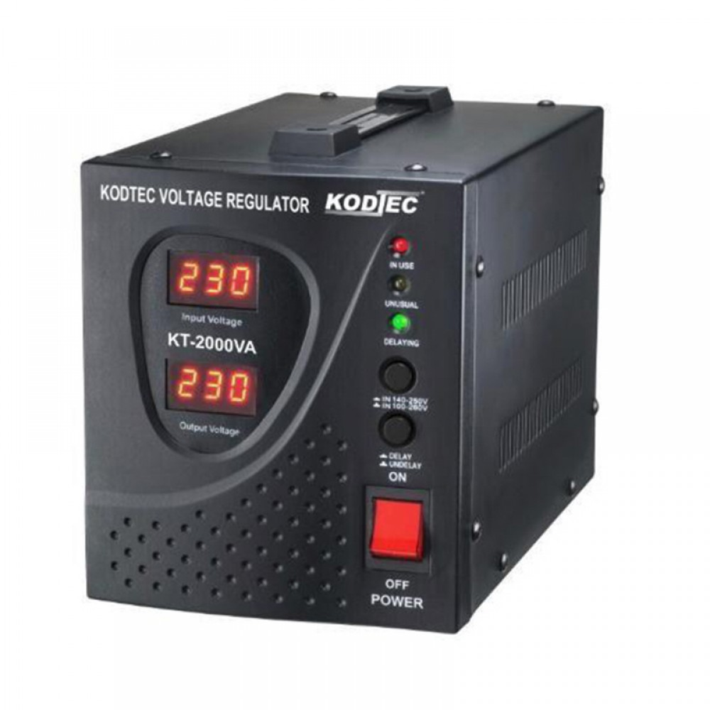 Kodtec Voltage Regulator Stabilizer KT-2000VA