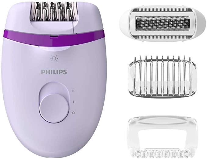 Philips Satinelle Essential epilator Tanzania (BRE275/00, Purple)