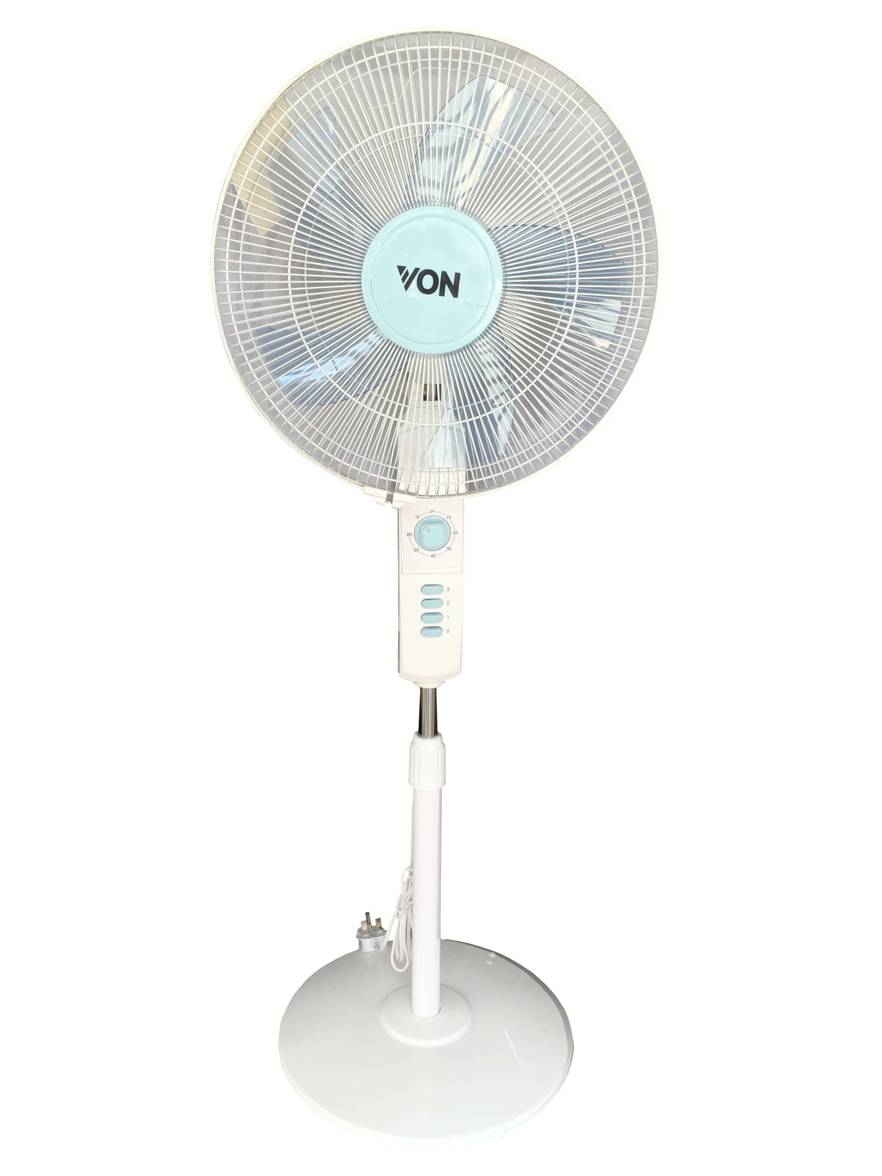 "Von Hotpoint Floor Standing Fan 16"" inch Tanzania (White, VSNJ6620L)"
