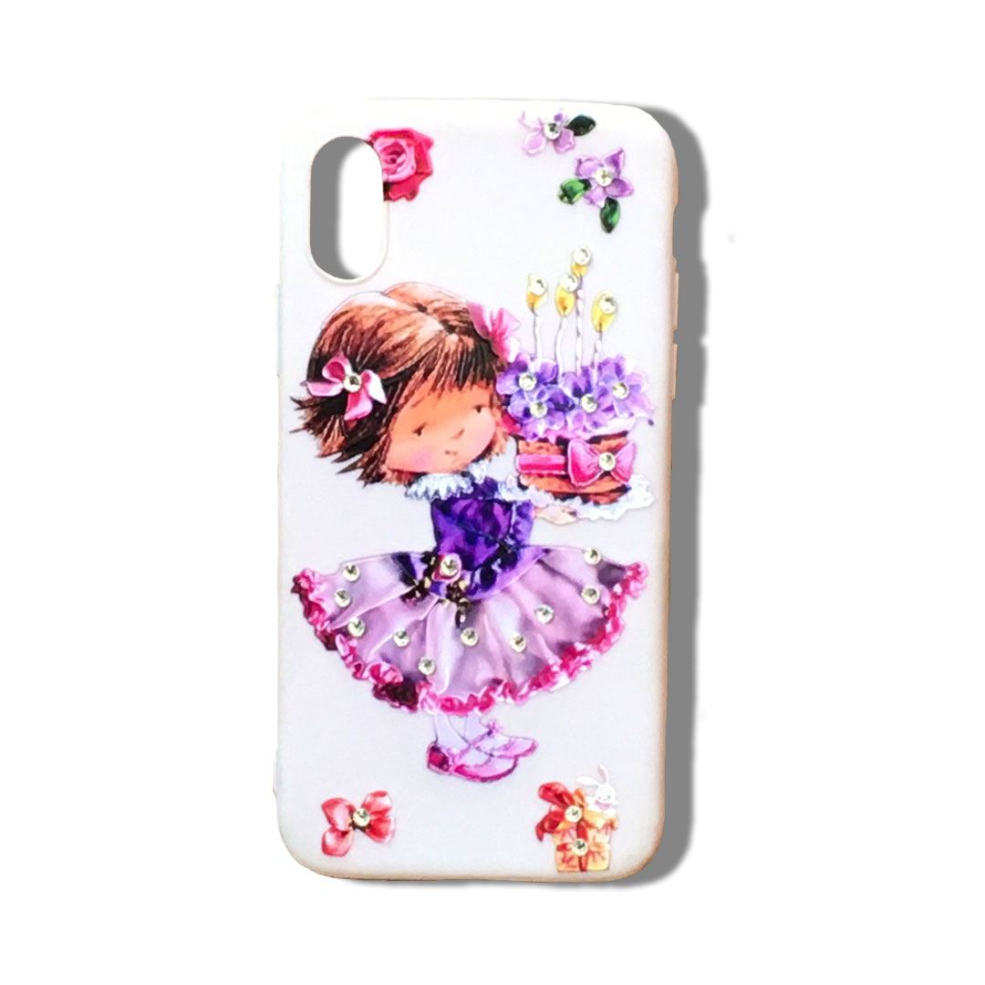 Phone Cover With Cartoon Flowers Tanzania