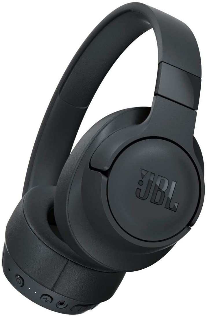 JBL TUNE 750BTNC Tanzania- Wireless Over-Ear Headphones With Noise Cancellation - Black