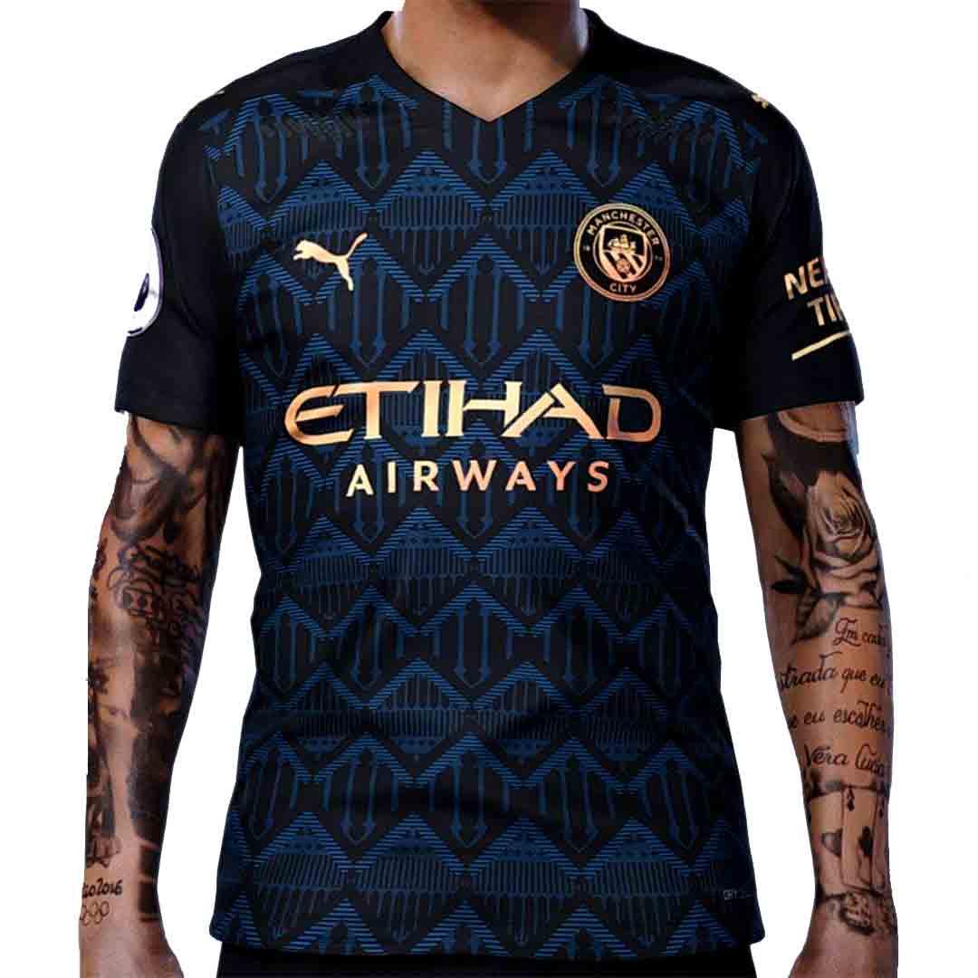 Manchester City Away Jersey Kit 2020 2021 Tanzania