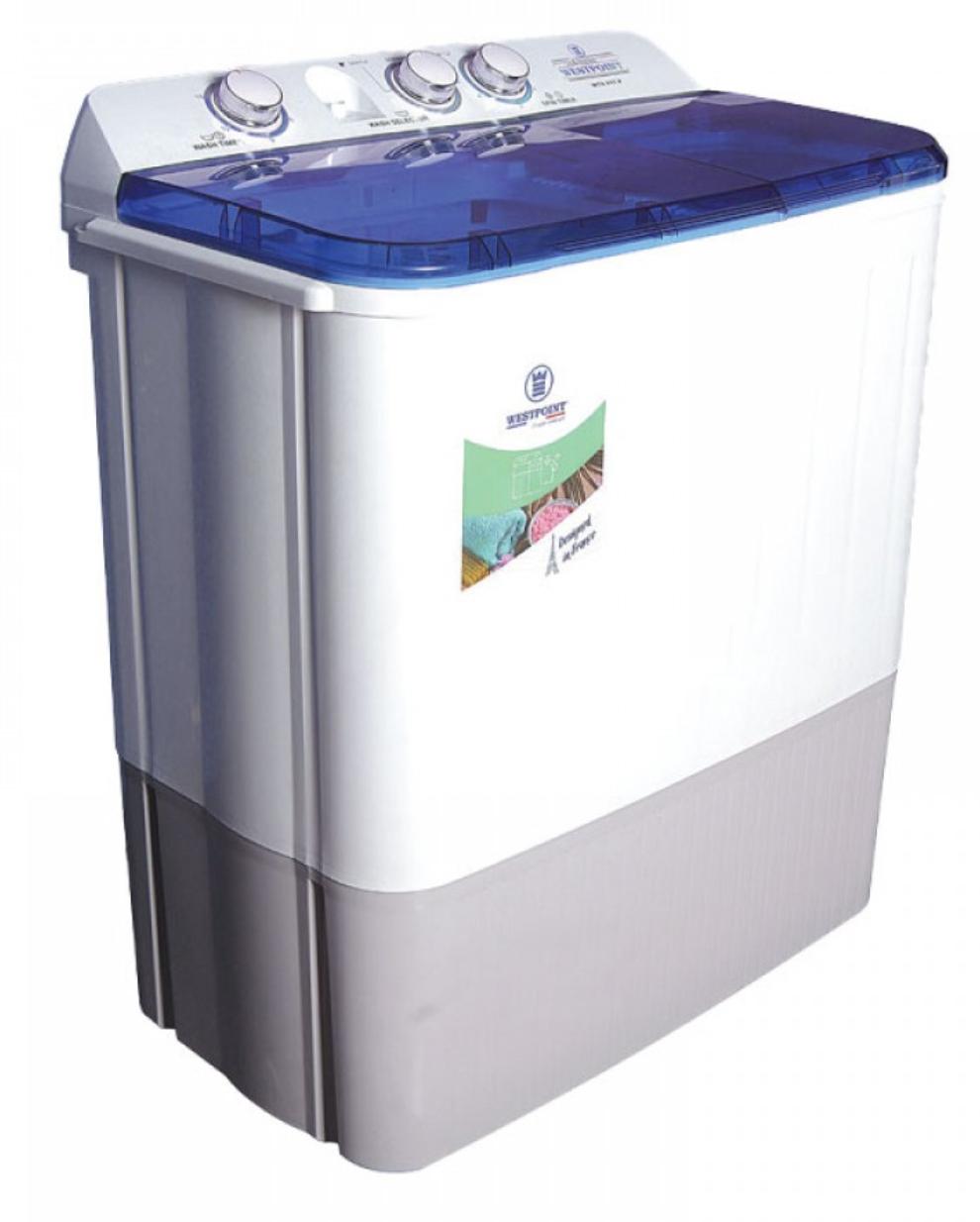 Westpoint Washing Machine 9kg Manual Twin Tub Top Load  Tanzania (White, WTX-917.P)